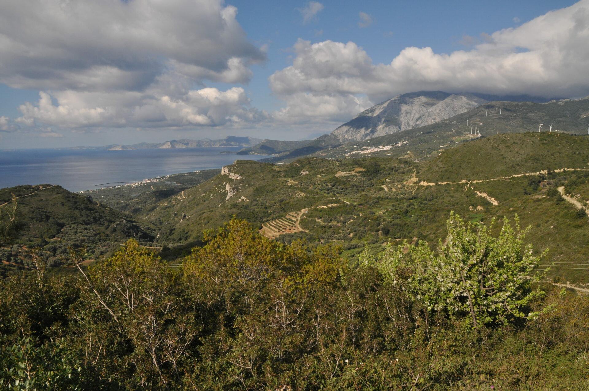 Westzijde Samos